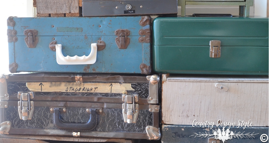 Tool Boxes for organization | Country Design Style | countrydesignstyle.com