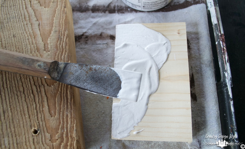 Making-art-blocks-using-plaster-and-joint-compound | Country Design Style | countrydesignstyle.com