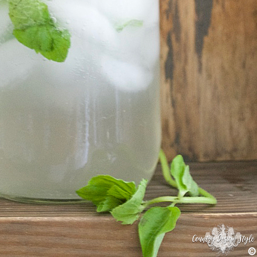 Mason Jar Drink Idea ig3 | Country Design Style | countrydesignstyle.com