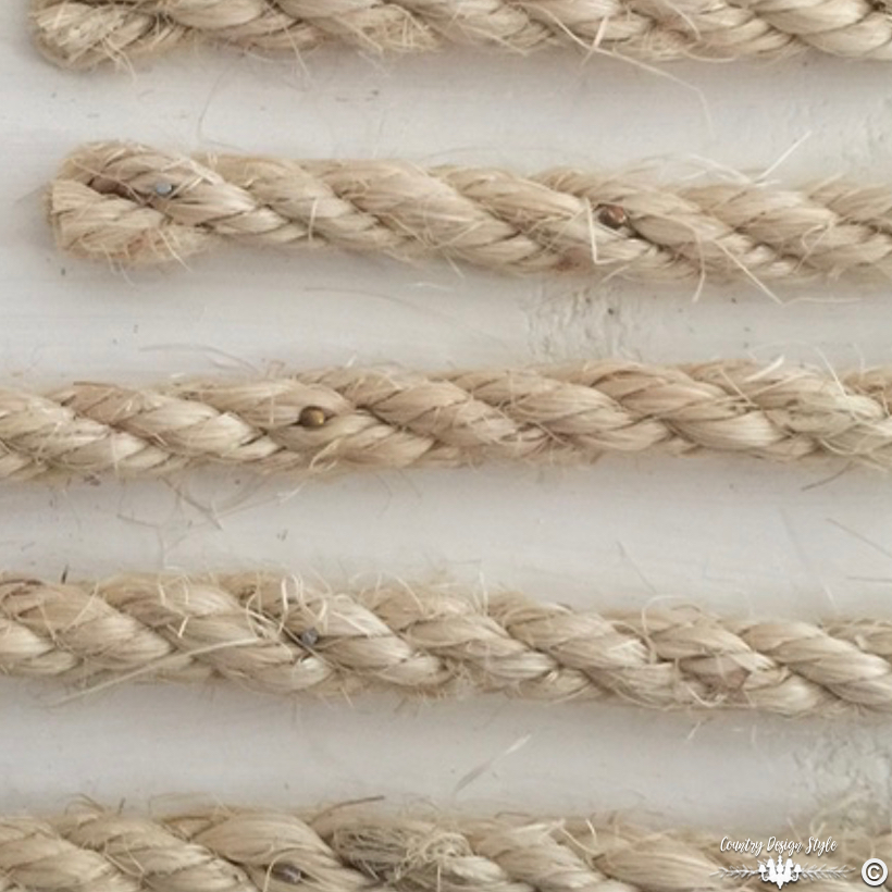 Rustic-wood-flag-with-rope-and-twine ig2   Country Design Style   countrydesignstyle.com