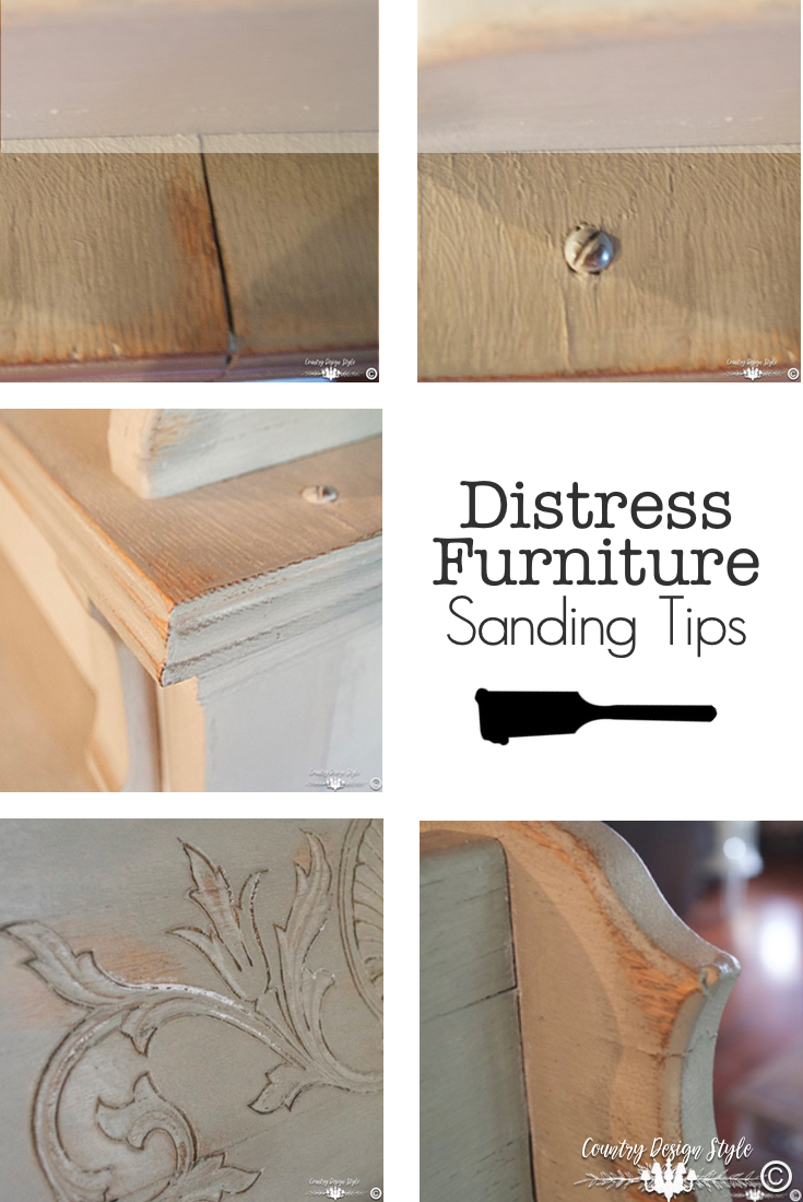 Sanding-Furniture-Tips- pn | Country Design Style | countrydesignstyle.com
