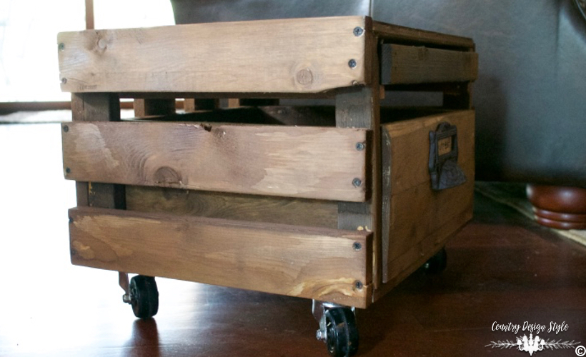 Crate-Side-Table-bottom-crate | Country Design Style | countrydesignstyle.com
