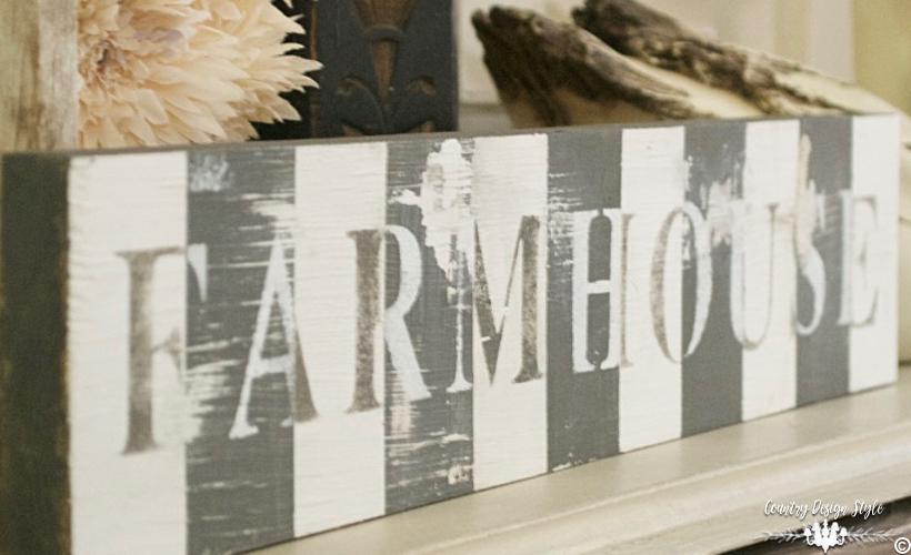 DIY Videos Antique Farmhouse Style | Country Design Style | countrydesignstyle.com