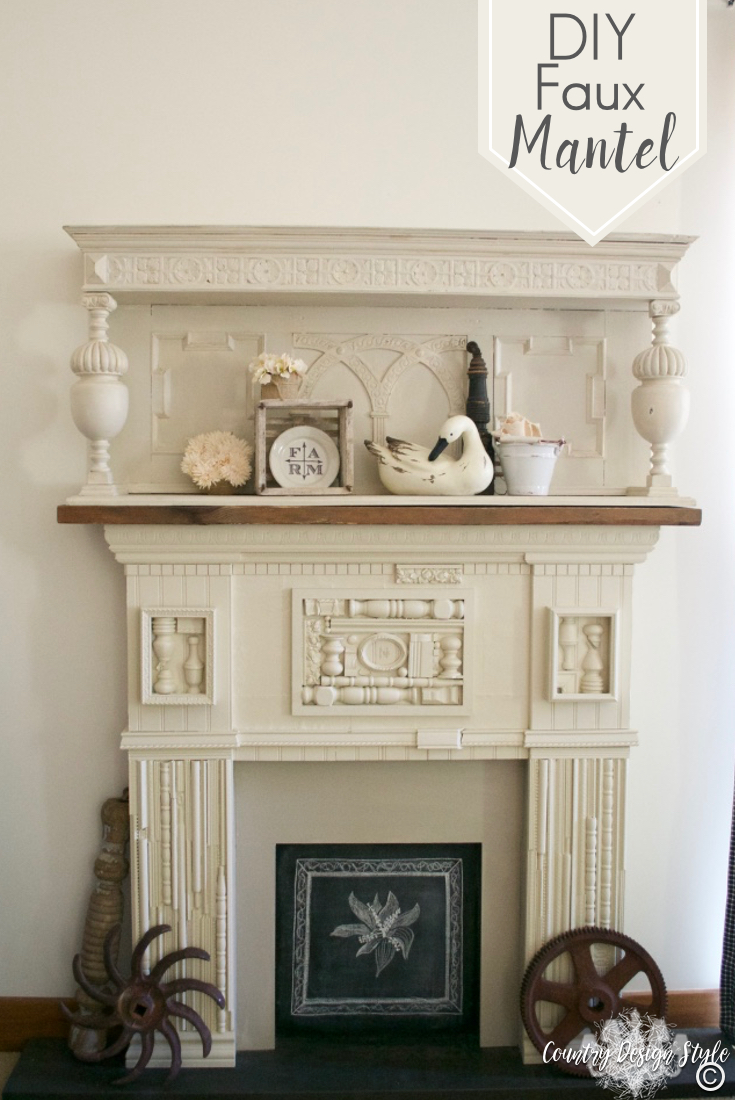 DIY-faux-mantel-to-pin | Country Design Style | countrydesignstyle.com