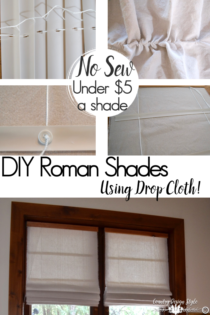 Roman-shade-tutorial | Country Design Style | countrydesignstyle.com