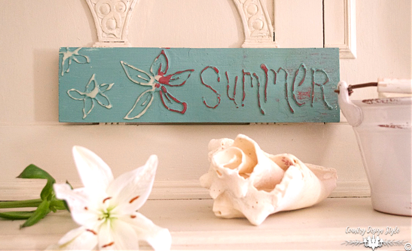 Weird-way-to-make-a-raised-lettered-sign   Country Design Style   countrydesignstyle.com