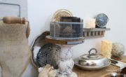 Grey-room-decor-for-mantel | Country Design Styel | countrydesignstyle.com
