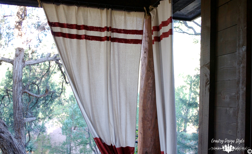 Outdoor Curtains | Country Design Style | countrydesignstyle.com