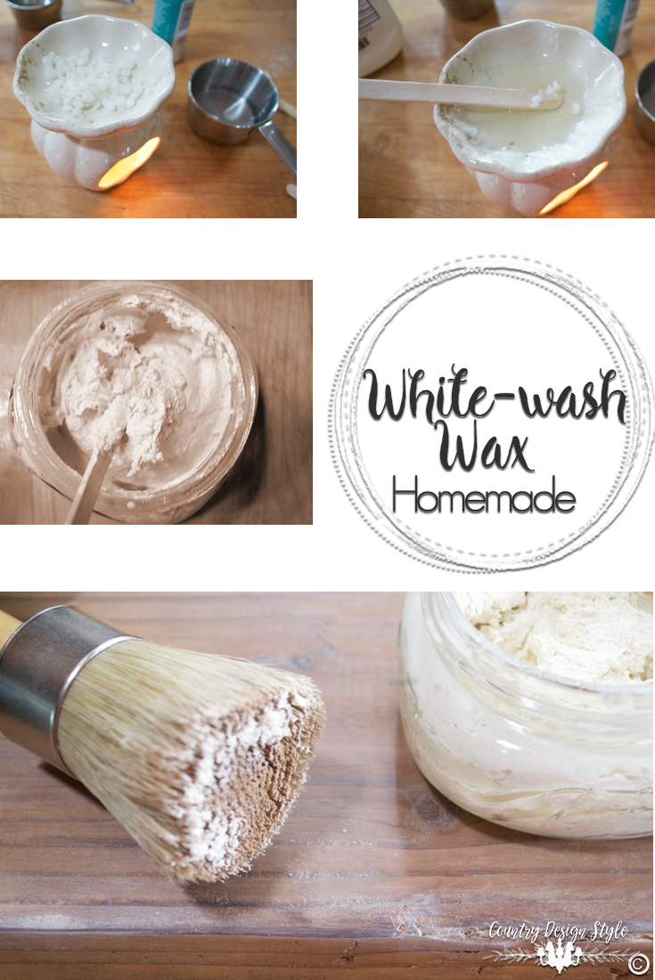 Whitewash-Wax-how-to | Country Design Style | countrydesignstyle.com