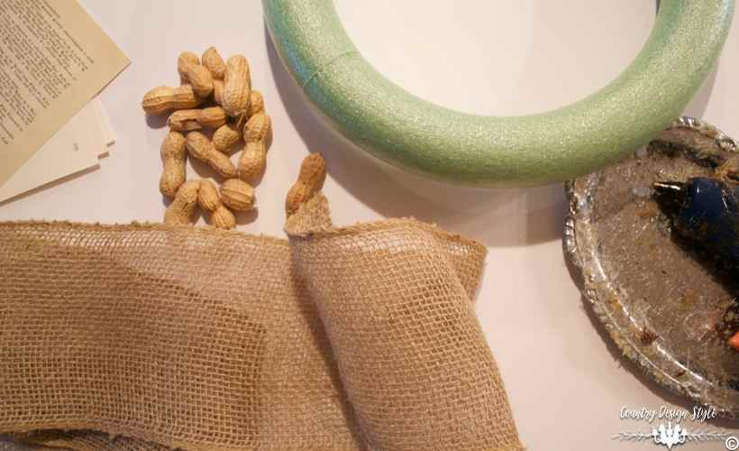 diy-peanut-wreath-supplies-country-design-style-countrydesignstyle-com