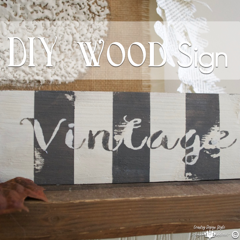 DIY-wood-signs-square | Country Design Style | countrydesignstyle.com