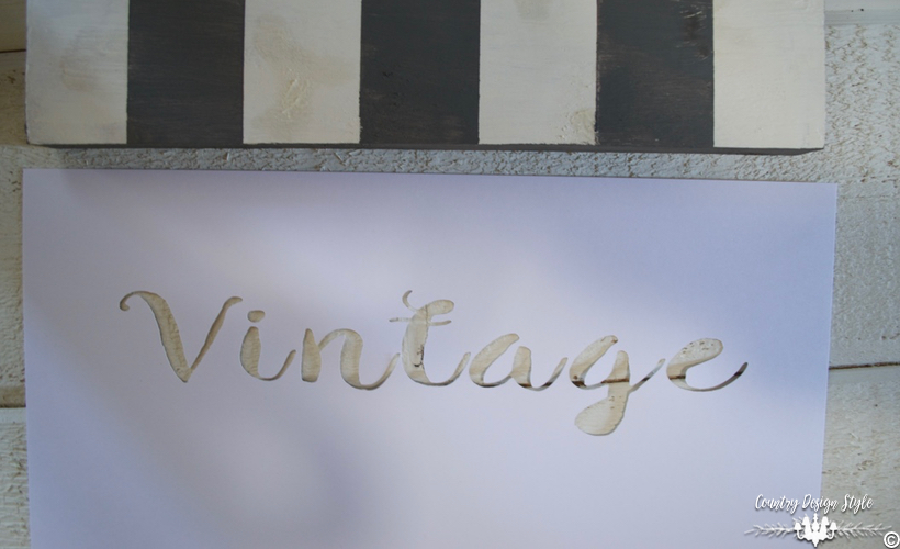 DIY-wood-signs-stencil | Country Design Style | countrydesignstyle.com