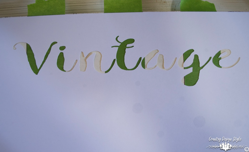 DIY-wood-signs-striped-lettering | Country Design Style | countrydesignstyle.com