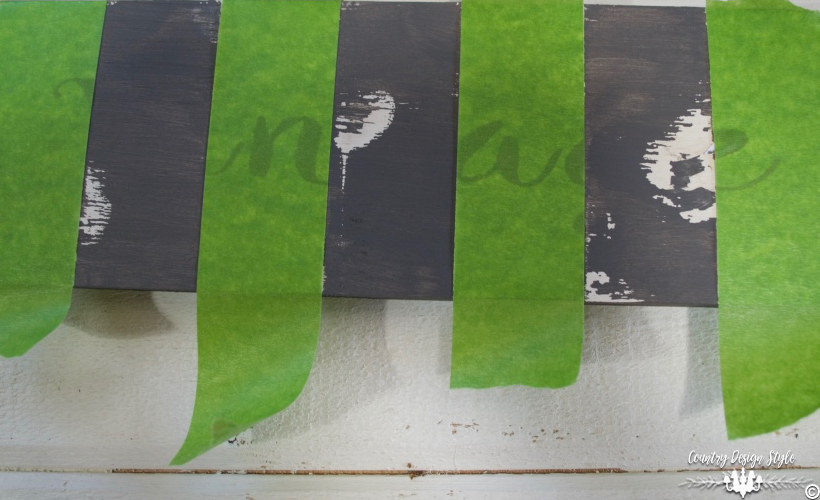 DIY-wood-signs-taped-with-painters-tape | Country Design Style | countrydesignstyle.com