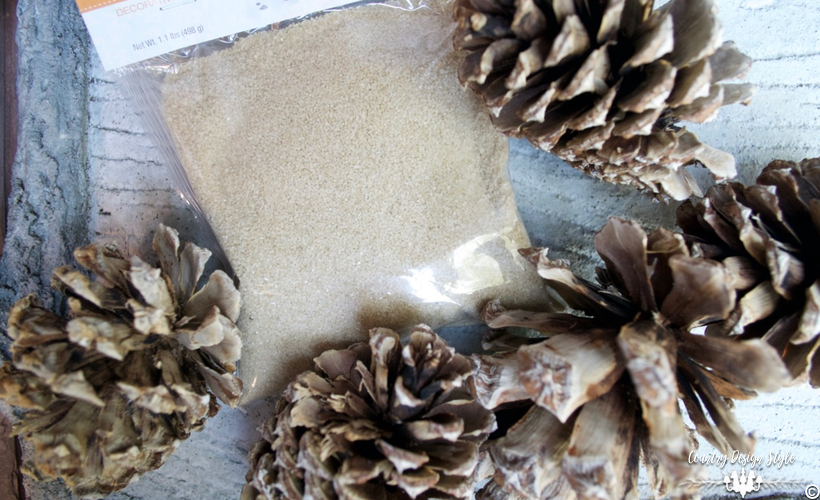 how-to-bleach-pine-cones-plus-sandy-country-design-style-countrydesignstyle-com