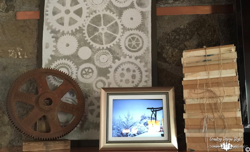 Industrial Farmhouse Art Left Country Design Style Countrydesignstyle