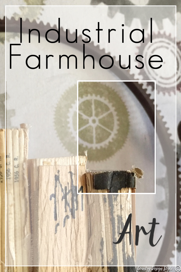Industrial Farmhouse Art Pin Country Design Style Countrydesignstyle