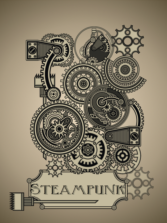 Steampunk design country design style for What is steampunk design