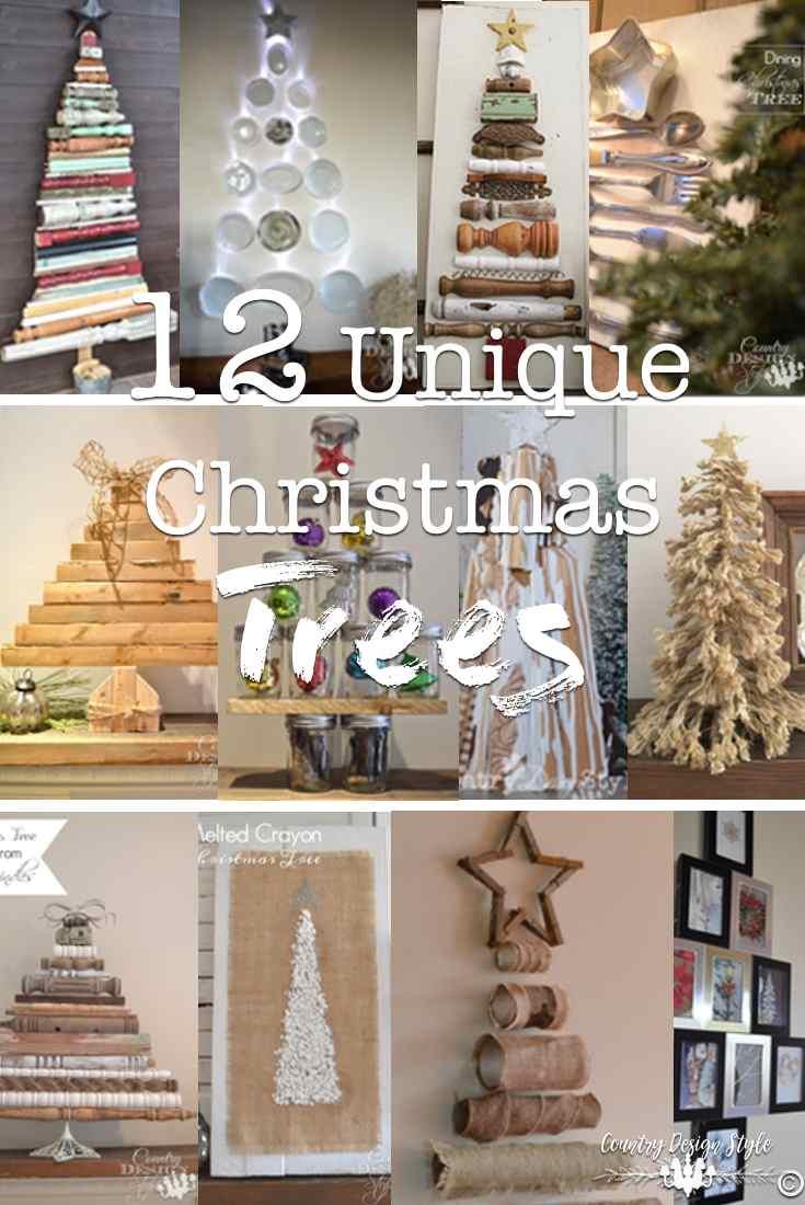 Unique Christmas Trees 12 Unique Christmas Trees Country Design Style
