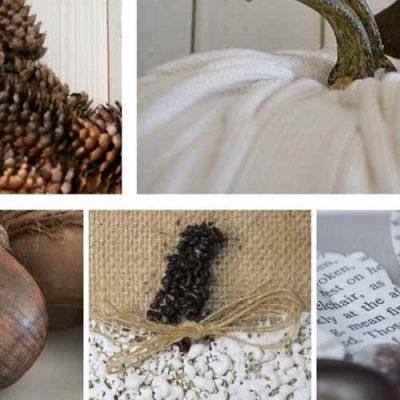7 Easy Farmhouse Style Autumn Projects