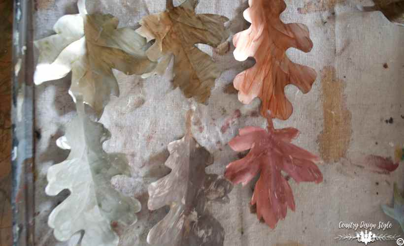 diy-metal-leaves-painted-stained-country-design-style-countrydesignstyle-com