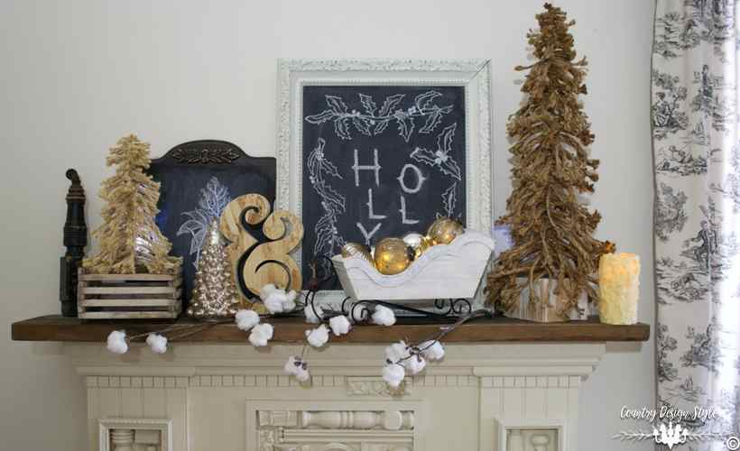 diy-christmas-mantel-decor-and-lights-country-design-style-countrydesignstyle-com
