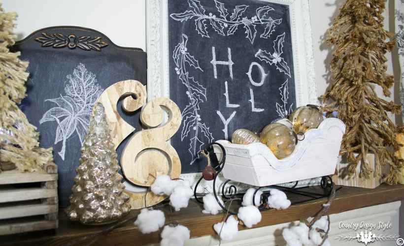 diy-christmas-mantel-lights-country-design-style-countrydesignstyle-com