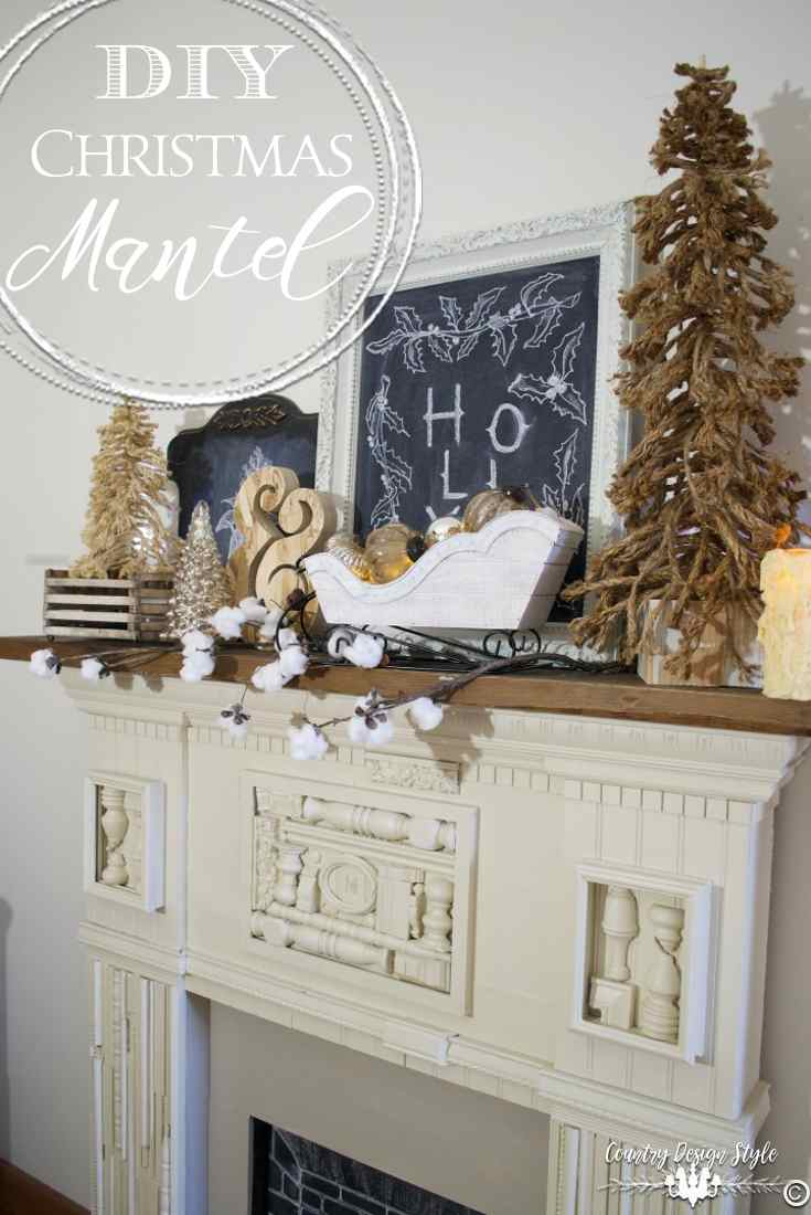 diy-christmas-mantel-top-country-design-style-countrydesignstyle-com