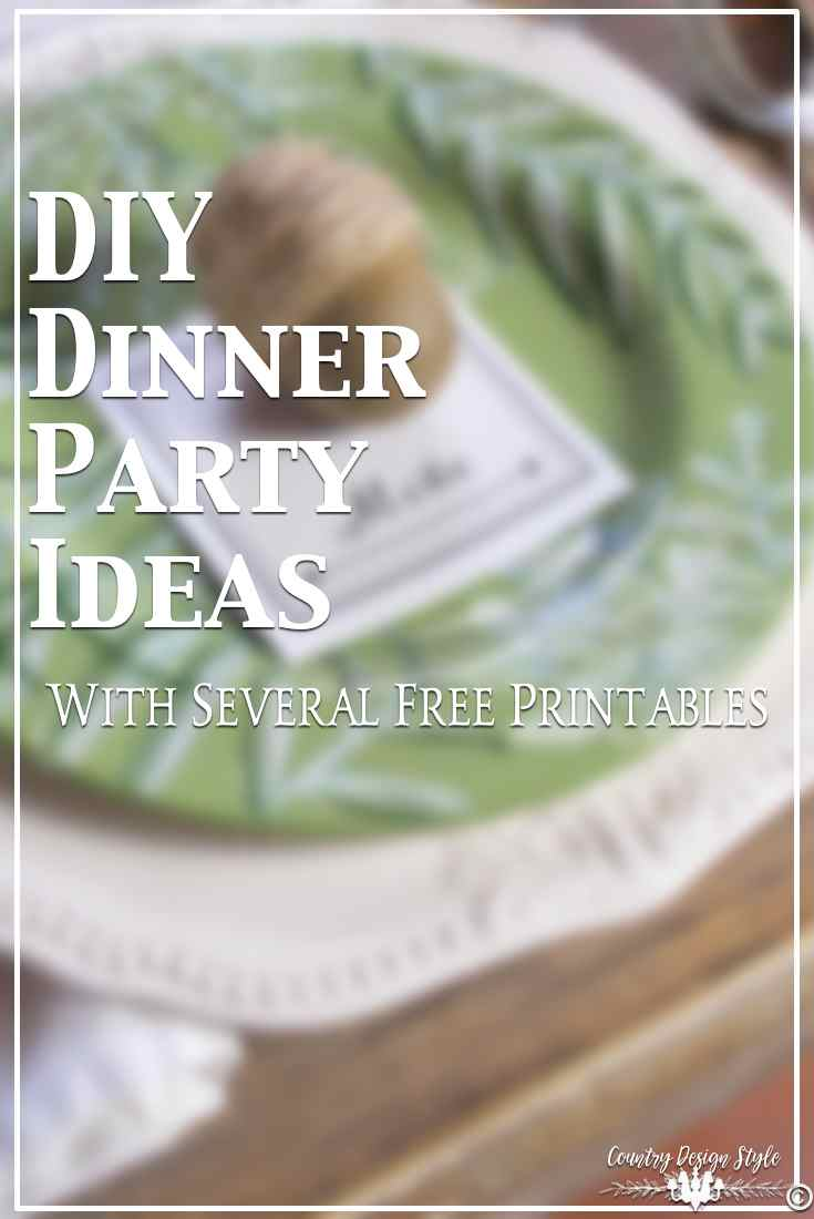 Diy Dinner Party Ideas Part - 37: Diy-dinner-party-ideas-for-pinning-country-design-