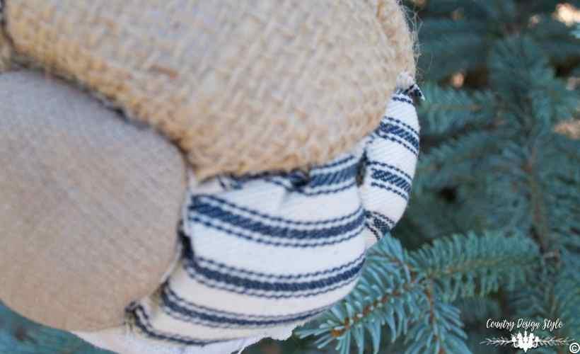 DIY farmhouse style ornament