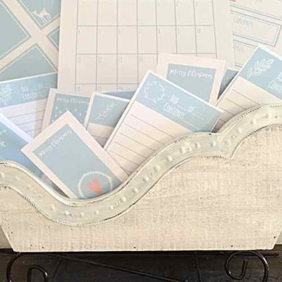 25 DIY Labels to help Organize the Holidays
