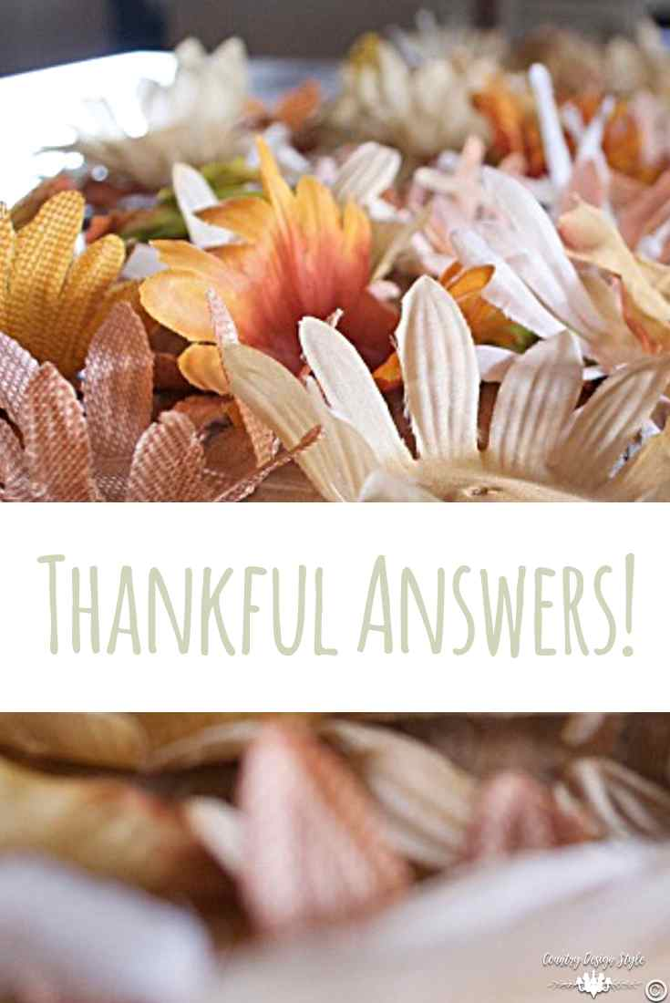 Thankful answers pin | Country Design Style | countrydesignstyle.com