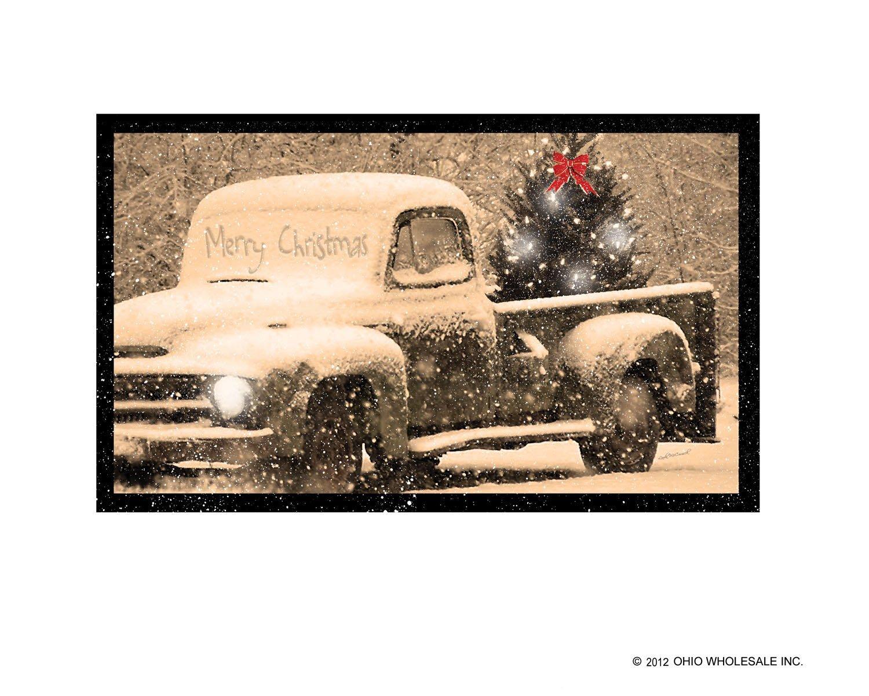 Pickup in Snow