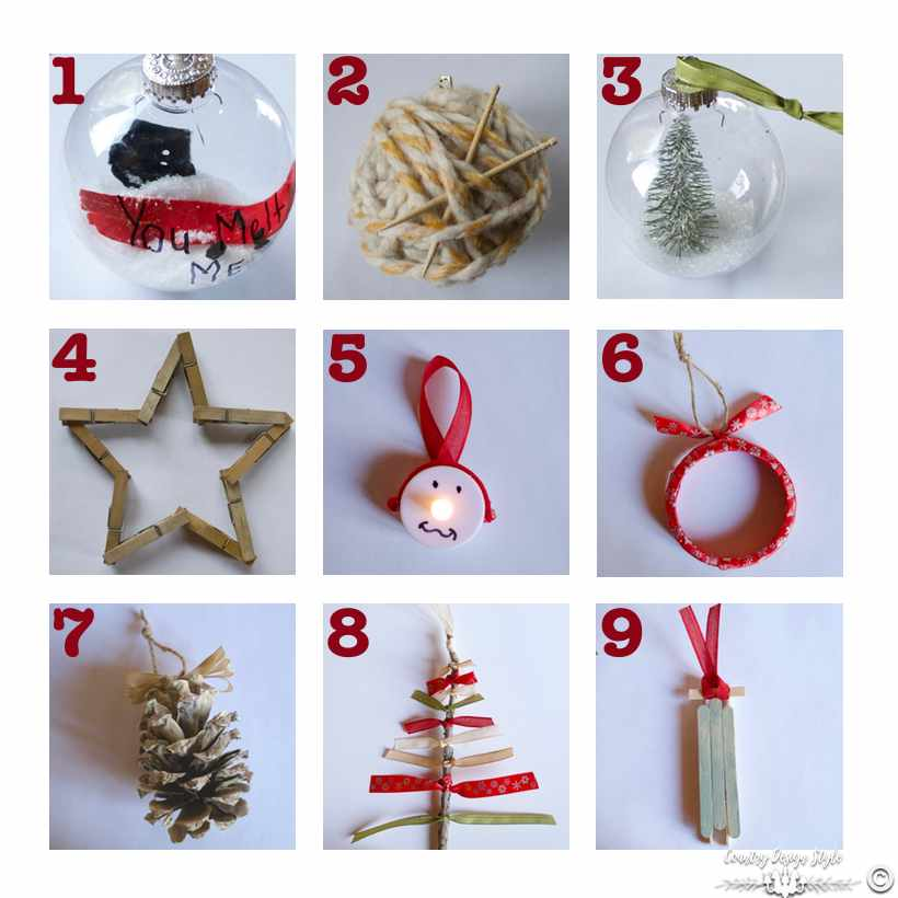 9 last minute ornaments sq | Country Design Style | countrydesignstyle.com