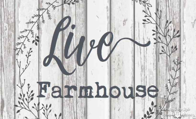 Farmhouse Style Labels