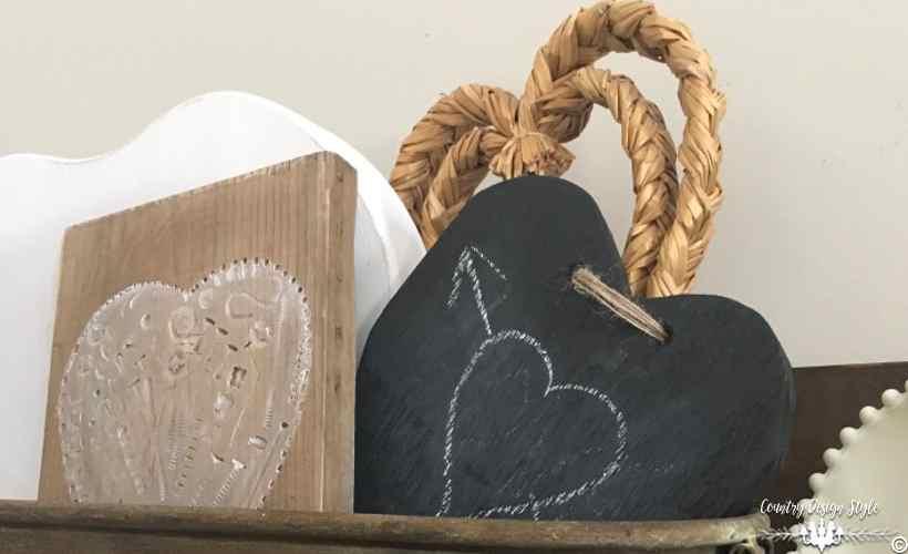 Rustic Valentine & Pig Trough