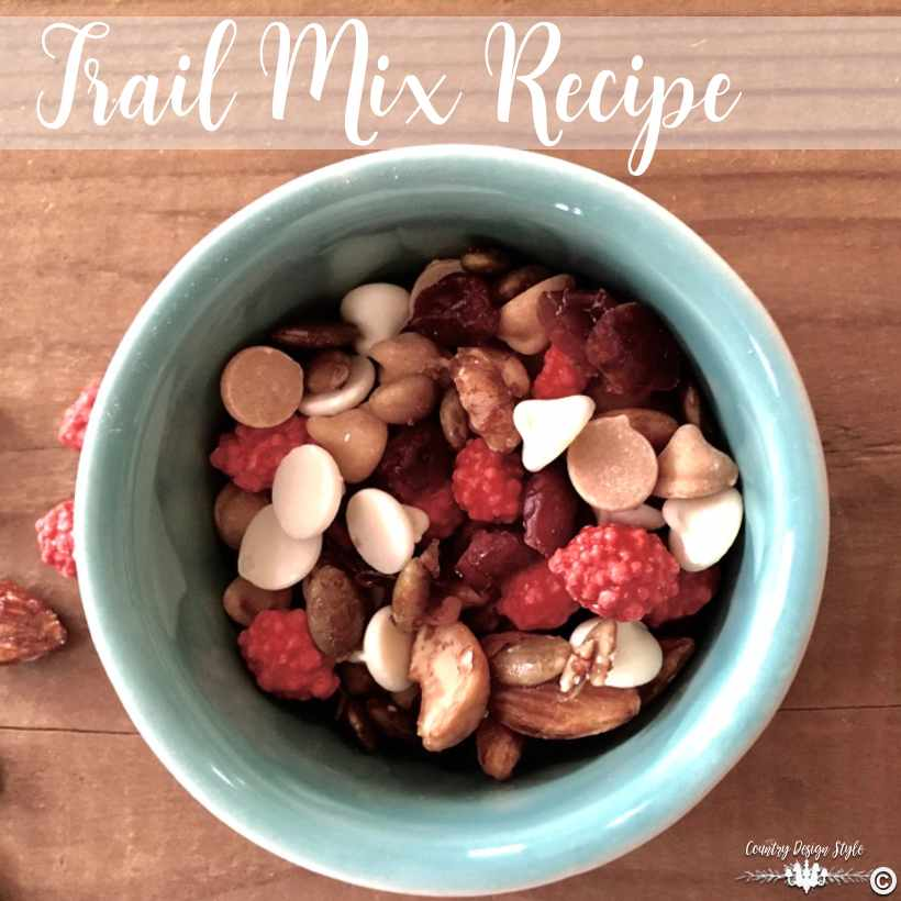 Trail Mix Recipe sq | Country Design Style | countrydesignstyle.com
