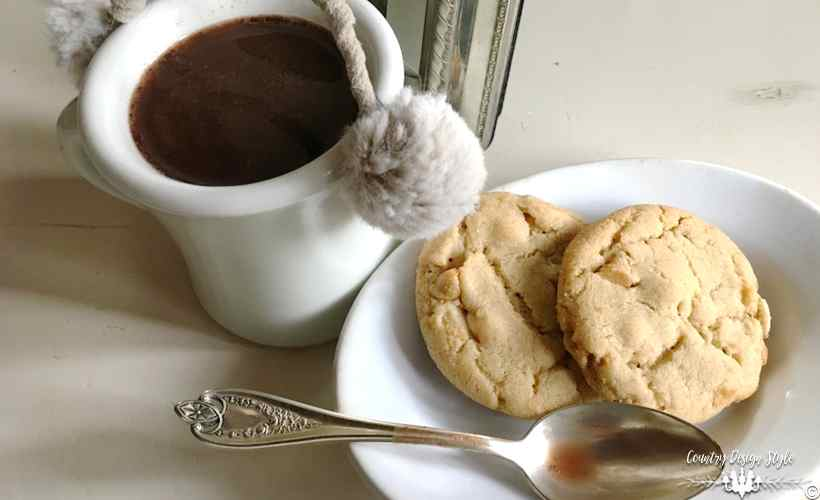 Winter White Wonder Cookies   Country Design Style   countrydesignstyle.com