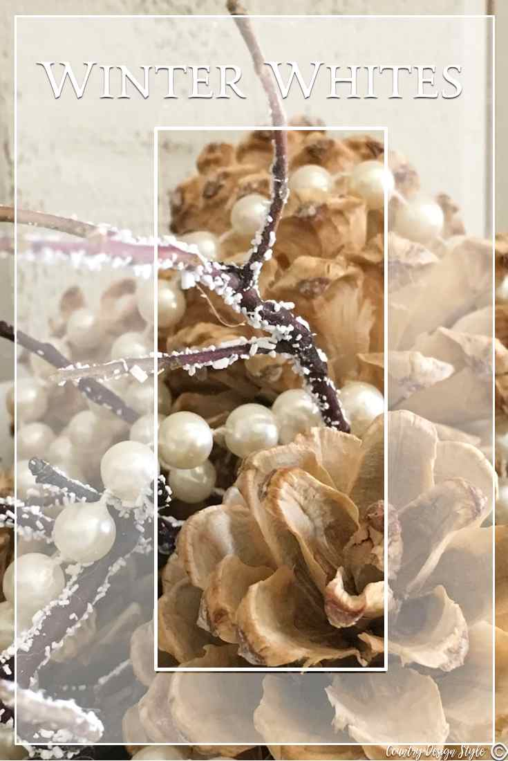 Winter White Wonder for Pinning   Country Design Style   countrydesignstyle.com