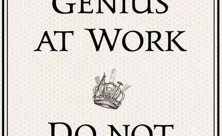 Creative genius printable