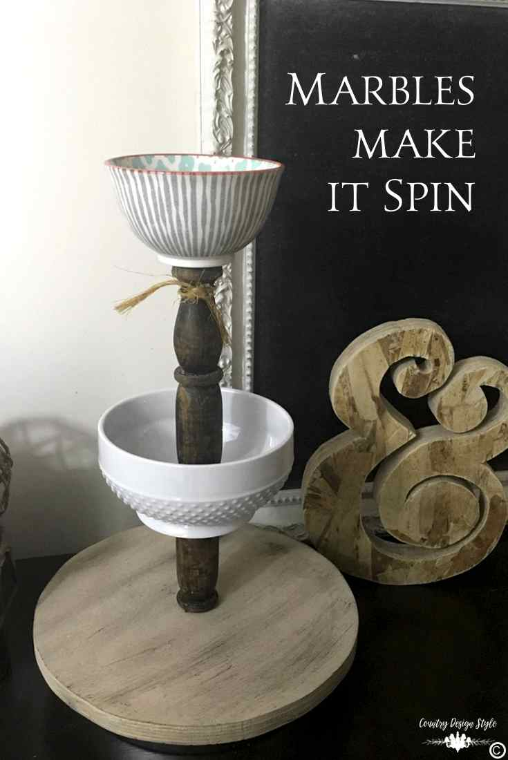 DIzzy Lazy Susan [DIY] Pin 3 | Country Design Style | countrydesignstyle.com