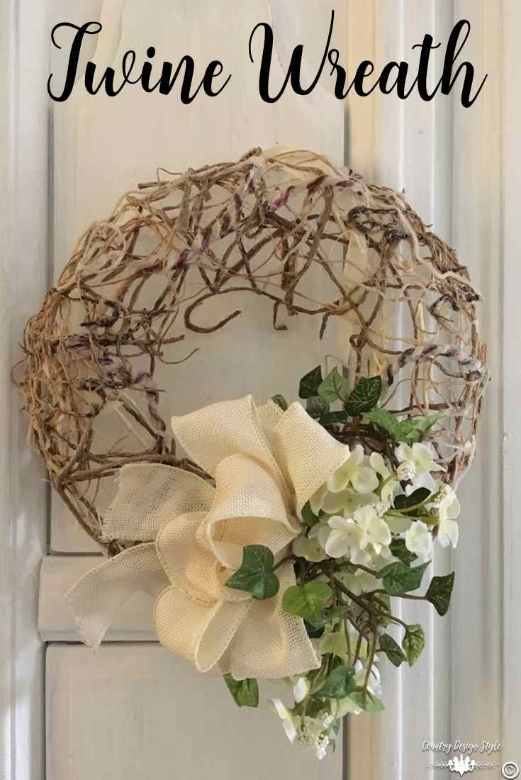 Making-a-mesh-wreath-of-twine-pin1 | Country Design Style | countrydesignstyle.com