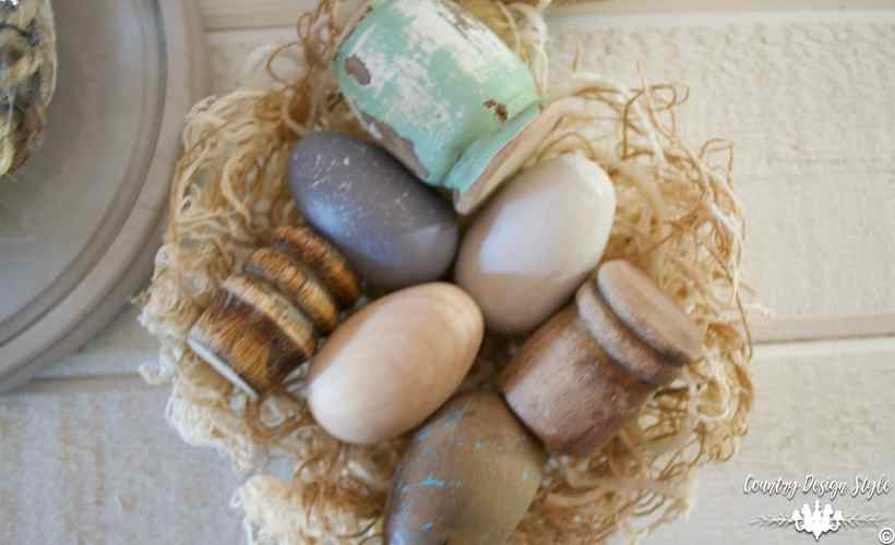 Easter-egg-ideas-spindle-eggs | Country Design Style | countrydesignstyle.com