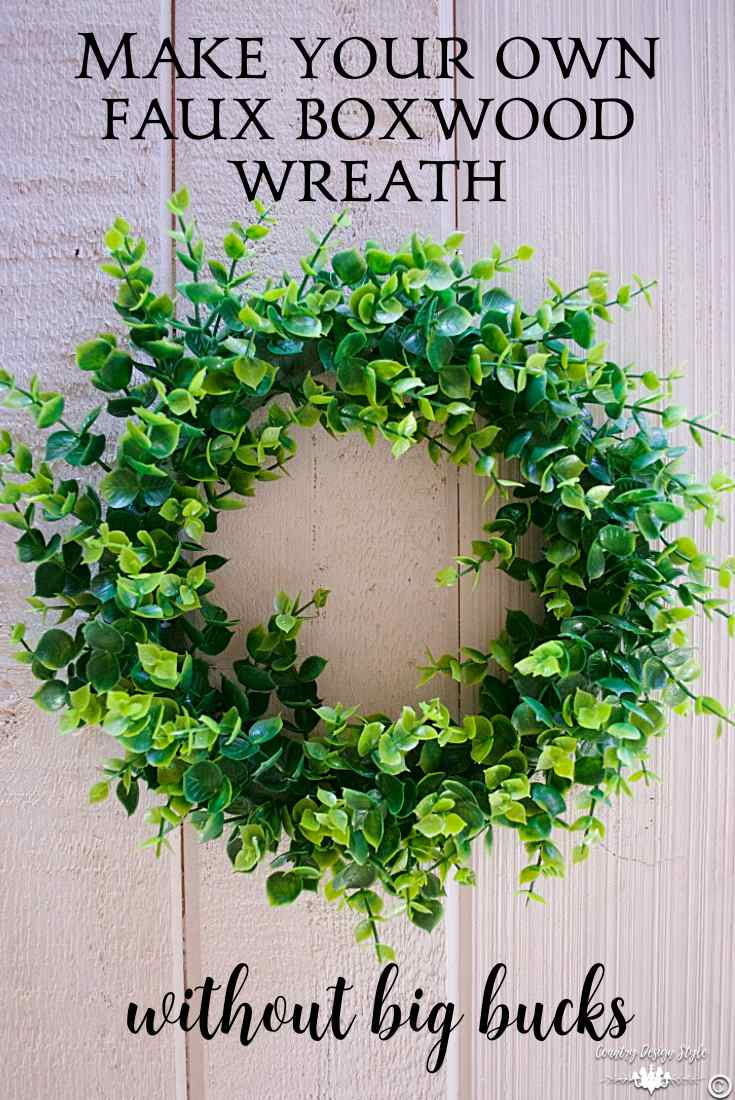Make-your-own-wreath-without-big-bucks   Country Design Style   countrydesignstyle.com