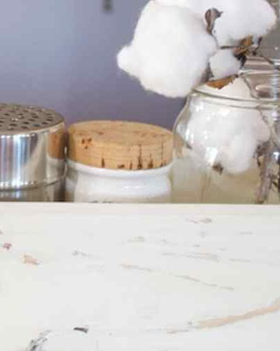 Overcome clutter in the kitchen with a one board project