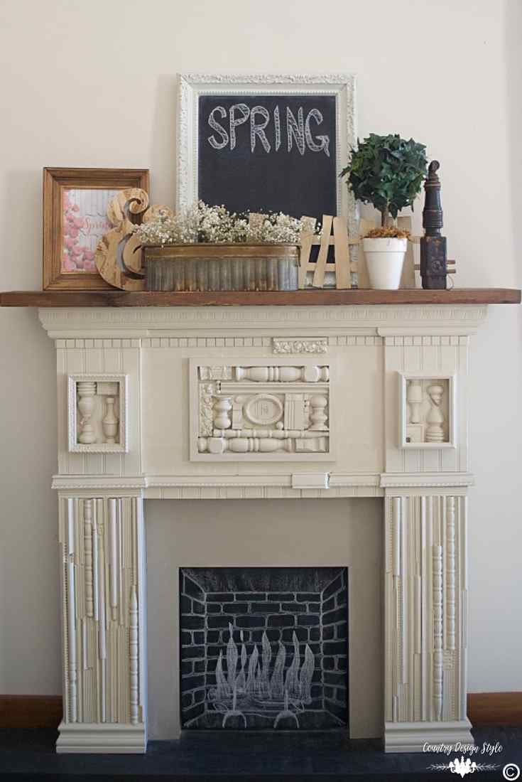 Spring Decorating Ideas: This Is Simple Spring Decorating Ideas For Your Mantel