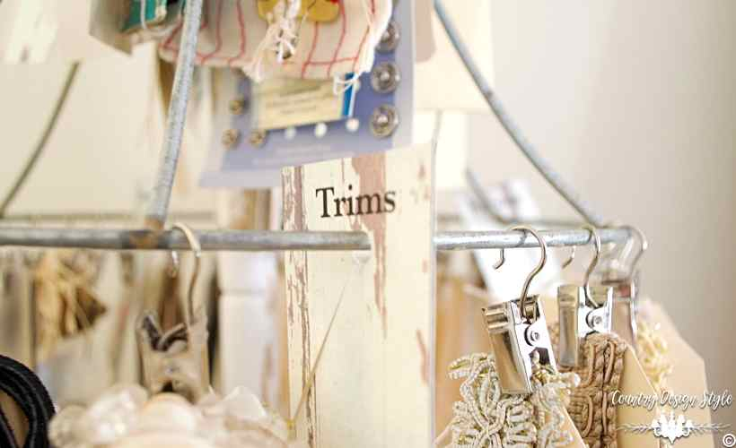 DIY Craft Organizer Main | Country Design Style | countrydesignstyle.com