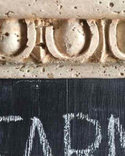 How to make an easy DIY chalkboard using scrap wood