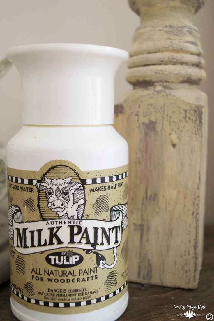 Milk-Paint-Tips tulip | Country Design Style | countrydesignstyle.com