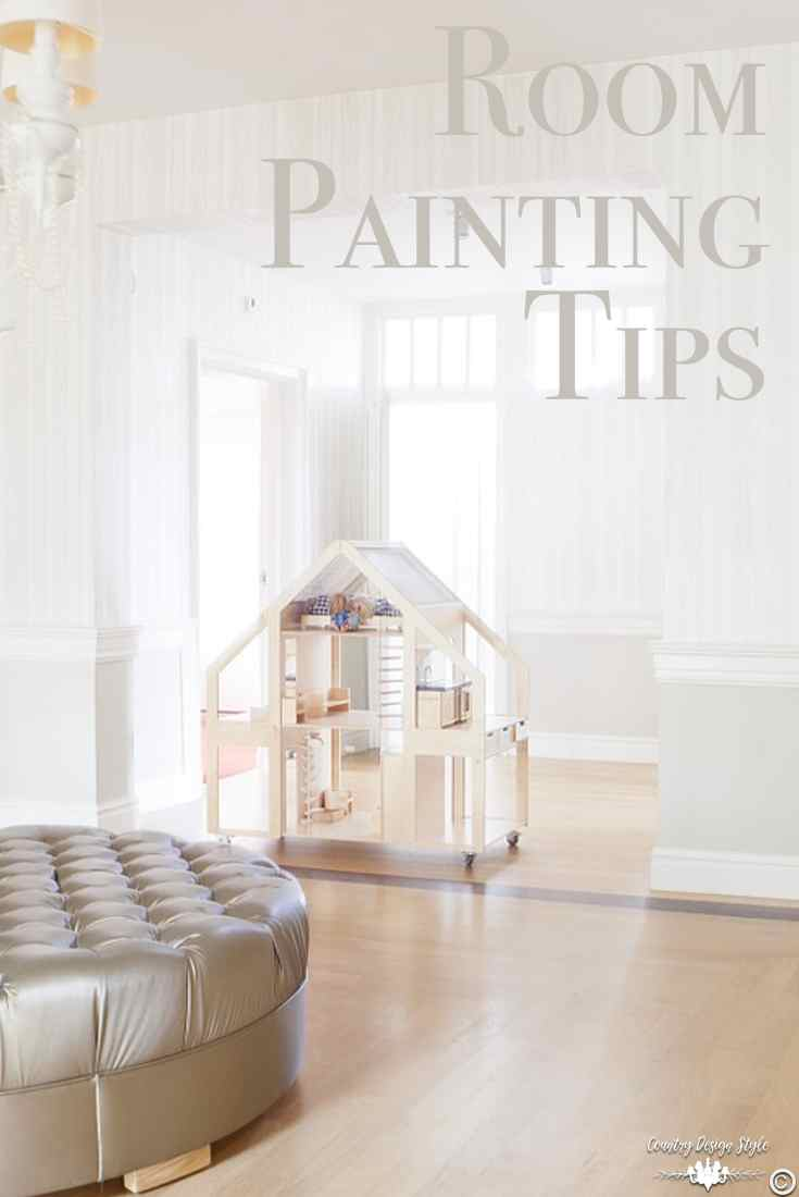 Room-Painting-Tips pin | Country Design Style | countrydesignstyle.com